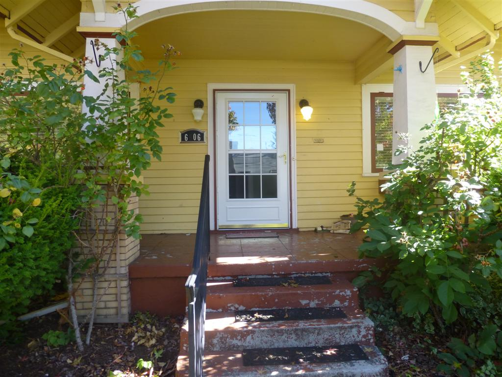 Portland front porch before paint advice