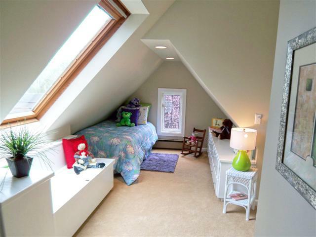 Staged child's room