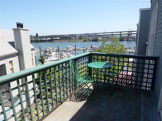 Portland Or Condo With A Great View At Riverplace Staged