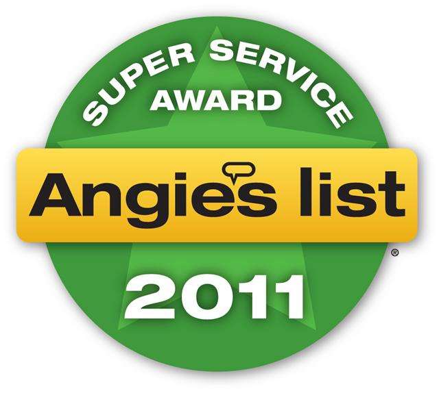 Angies List super service award 2011 for Portland home staging