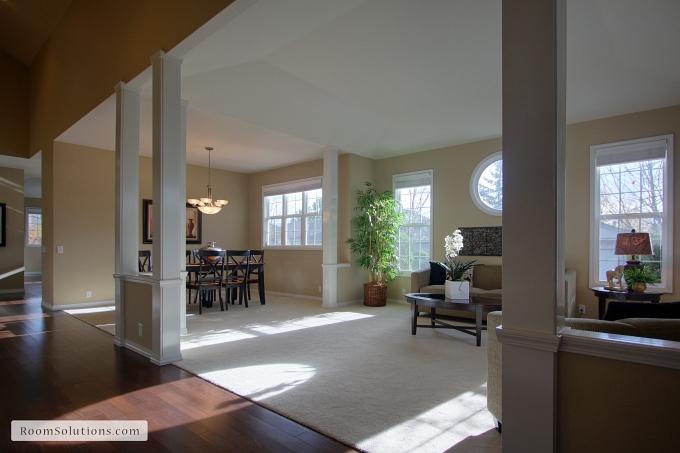 Portland Oregon real estate staging