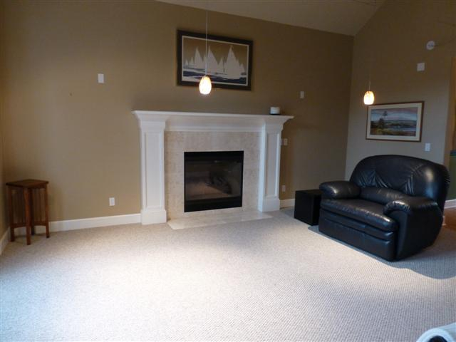 living room before staging by Room Solutions