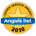 Angie's List 2010 Super Service Award Winner