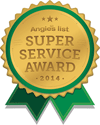 Angie's List 2014 Super Service Award Winner
