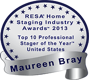 Real Estate Staging Association (RESA) Top 10 Pro Home Stager 2013 US
