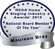 Real Estate Staging Association (RESA) National Board Member of the Year 2015
