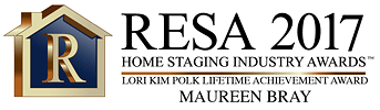 Real Estate Staging Association (RESA) 2017 Lifetime Achievement Award