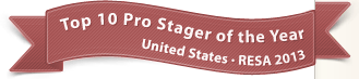 Top 10 Pro Stager of the Year, United States - RESA 2013