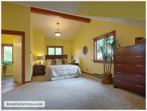 Home staging (occupied) by Room Solutions Staging in Portland, OR
