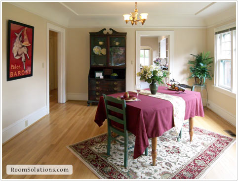 Dining Room Home Staging in Portland Oregon