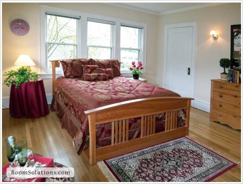 Bedroom Home Staging in Portland Oregon